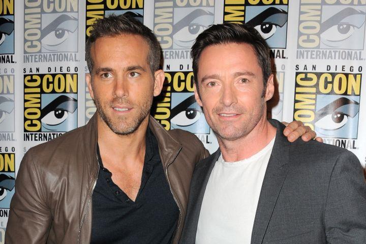 Ryan Reynolds and Hugh Jackman. Photo: Albert L. Ortega/Getty Images
