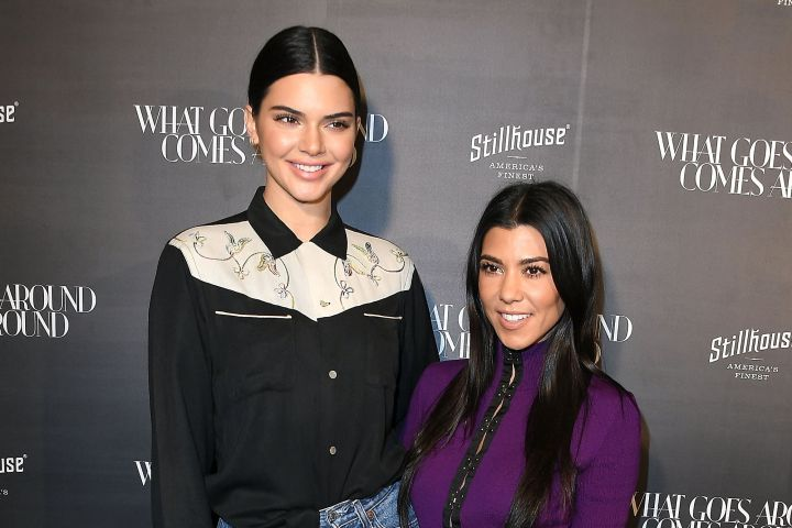 Kendall Jenner and Kourtney Kardashian. Photo: Steve Granitz/WireImage/Getty Images