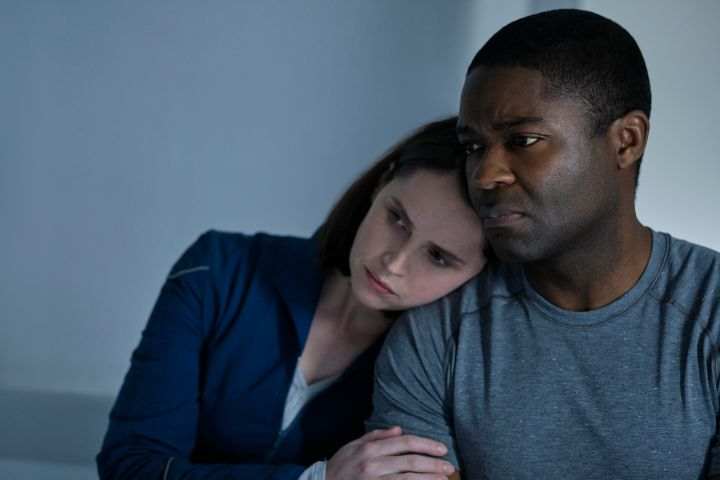Felicity Jones and David Oyelowo. Photo: Philippe Antonello/Netflix