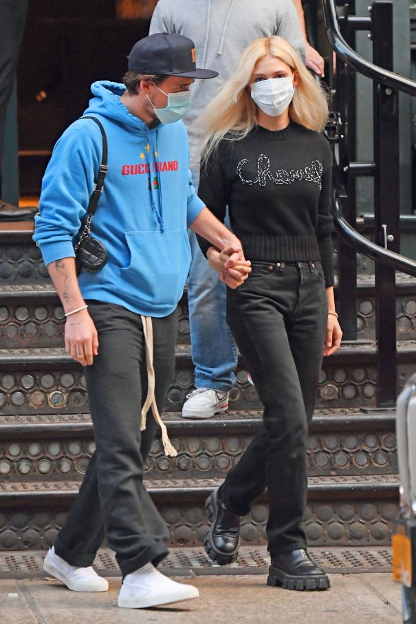 Brooklyn Beckham And Nicola Peltz Step Out