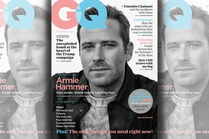 Armie Hammer. Photo: Eric Ray Davidson for GQ