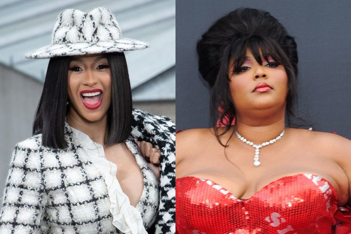 Cardi B, Lizzo. Photo: CP Images