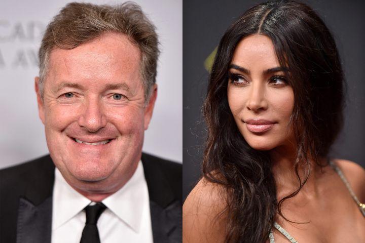 Piers Morgan, Kim Kardashian. Photo: CP Images