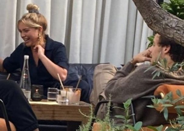 Harry Styles And Florence Pugh Grab Lunch