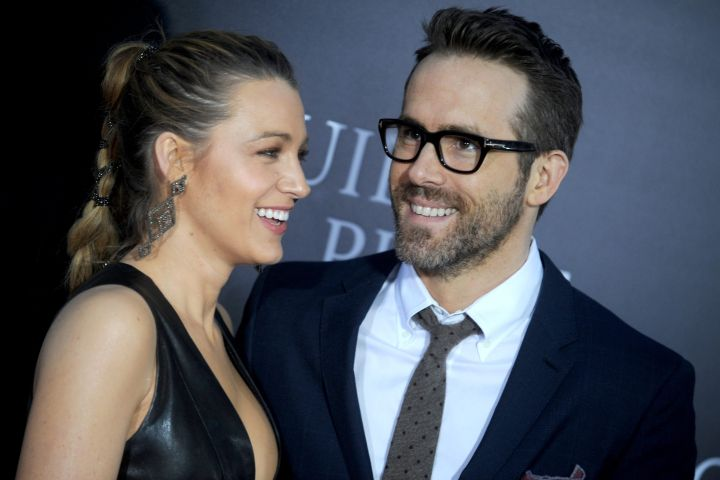 Blake Lively and Ryan Reynolds. Photo: CPImages