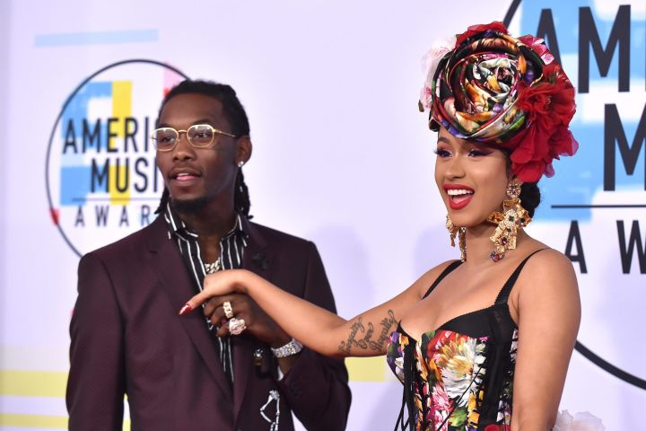 Cardi B and Offset. Photo: CP Images