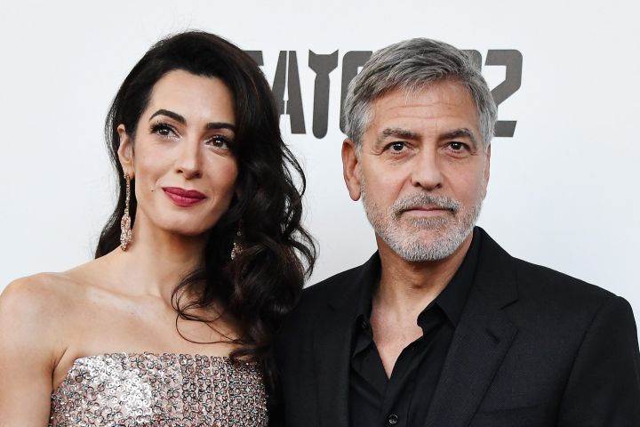 Amal and George Clooney Honored Virtually at Simon Wiesenthal Center's National Tribute Dinner ( CP13098453-2
