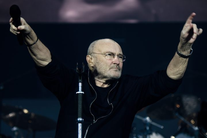 Phil Collins. Photo: EPA/CLEMENS BILAN