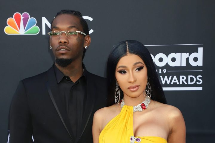Offset and Cardi B. Photo: CP Images