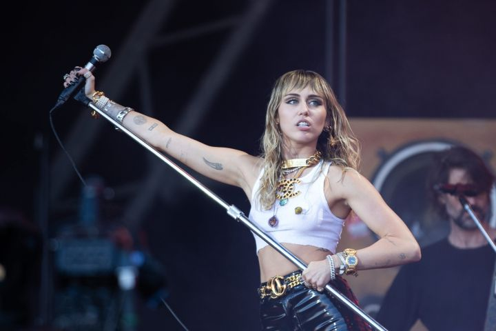 Miley Cyrus. Photo: CP Images