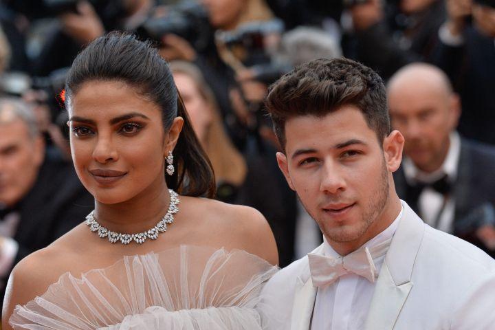 Priyanka Chopra, Nick Jonas. Photo: CPImages