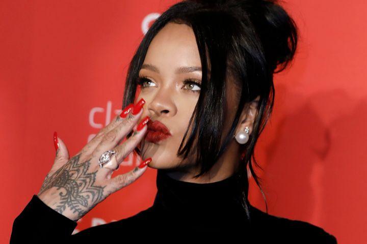 Rihanna. Photo: EPA/PETER FOLEY/CP Images