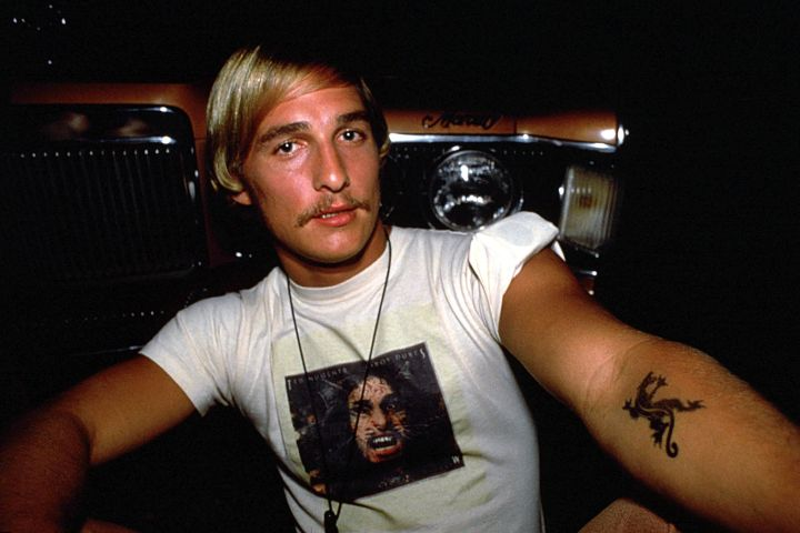 """Matthew McConaughey in """"Dazed and Confused"""". Photo: Gramercy Pictures/courtesy Everett Collection"""