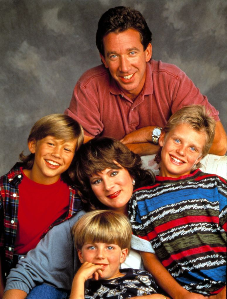 Top: Tim Allen, Jonathan Taylor Thomas, Patricia Richardson, Zachery Ty Bryan. Bottom: Taran Noah Smith.