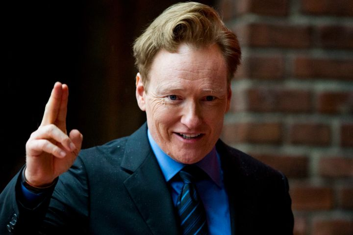 Conan O'Brien. Photo:  EPA/VEGARD WIVESTAD NORWAY OUT/CP Images