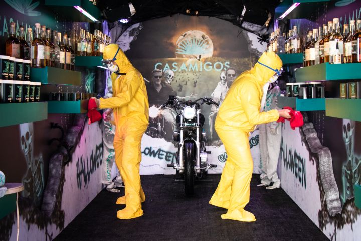 George Clooney And Rande Gerber Insist 'Halloween Isn't Cancelled' This Year, Reveal Spooky Casamigos Truck