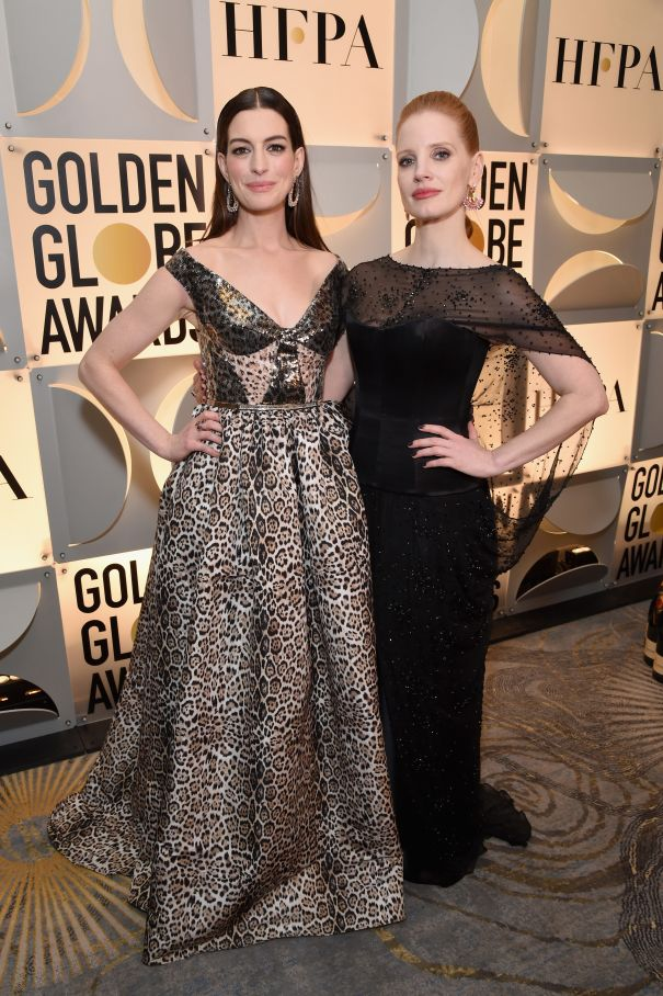 Anne Hathaway And Jessica Chastain To Reunite