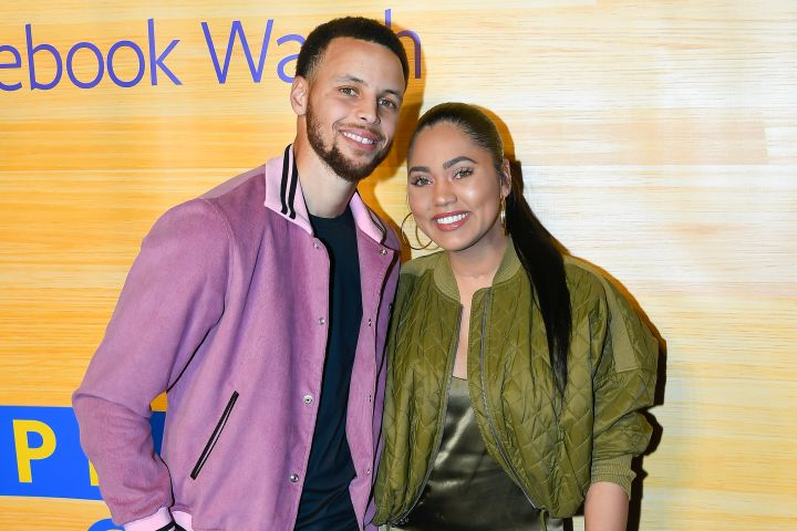 Stephen Curry and Ayesha Curry. Photo: CPImages