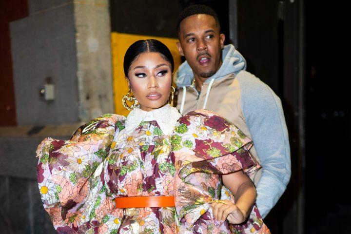 Nicki Minaj and Kenneth Petty. Photo: Getty Images