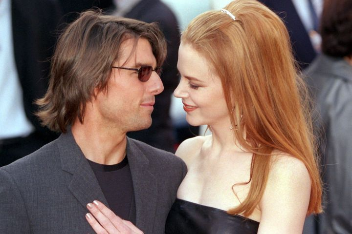 Tom Cruise And Nicole Kidman In 1999 - Getty Images