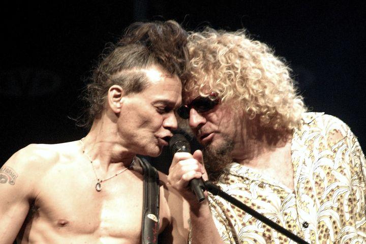Sammy Hagar Says He And Eddie Van Halen Reconciled Before ...
