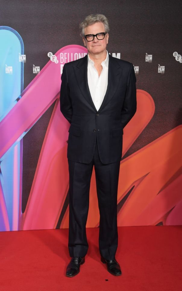 Colin Firth Looks Dapper At London Film Festival