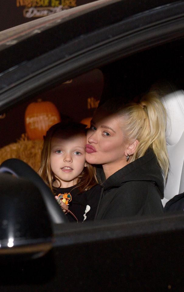 Christina Aguilera's Spooky Night Out