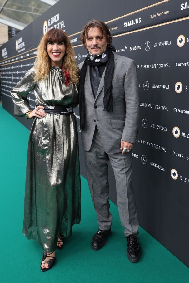 Johnny Depp & Victoria Mary Clarke Are A Dapper Duo