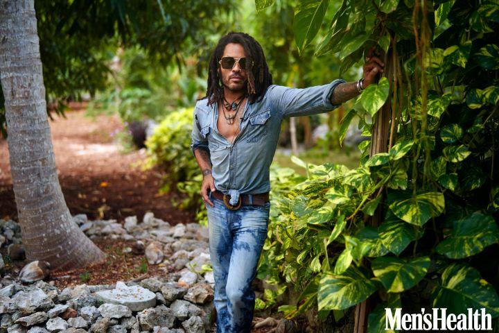 Lenny Kravitz. Photo: Mark Seliger for Men's Health