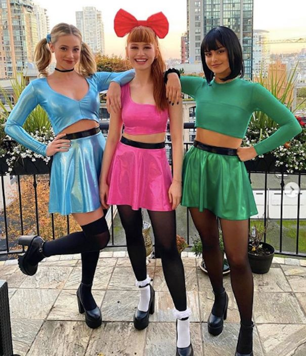 'Riverdale' Stars Channel PowerPuff Girls