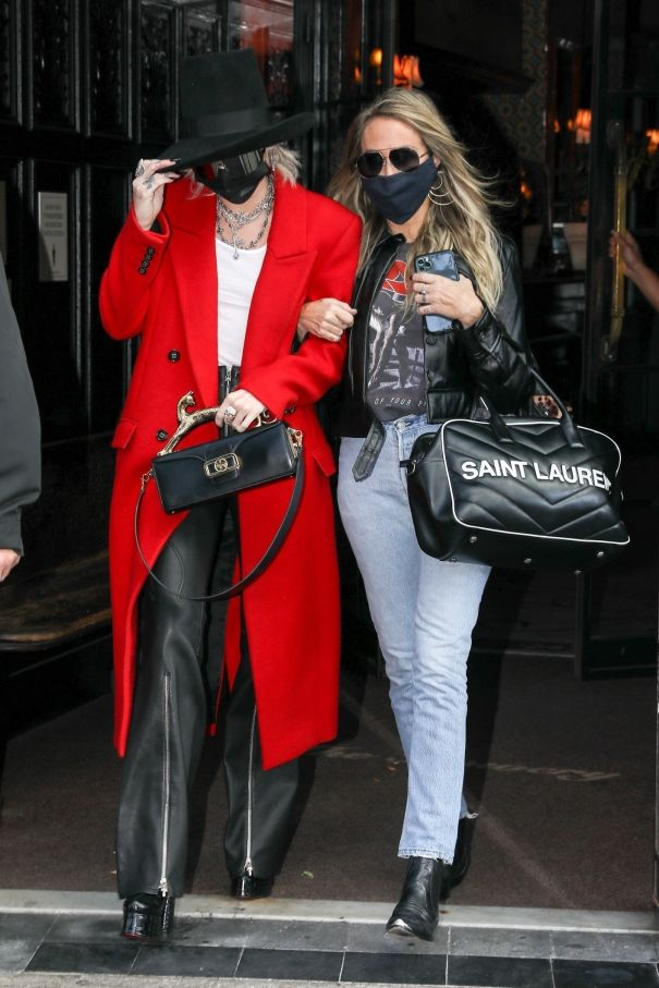 Miley Cyrus And Mom Tish On Mother-Daughter Date In New York
