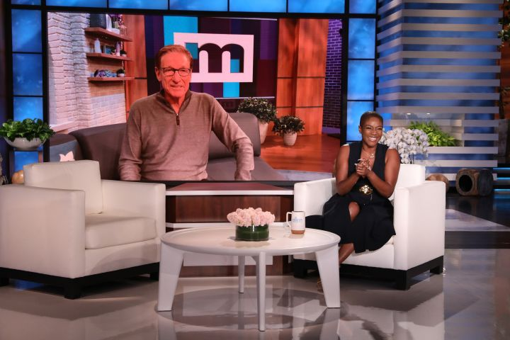 """Tiffany Haddish guests hosts a taping of """"The Ellen DeGeneres Show"""""""