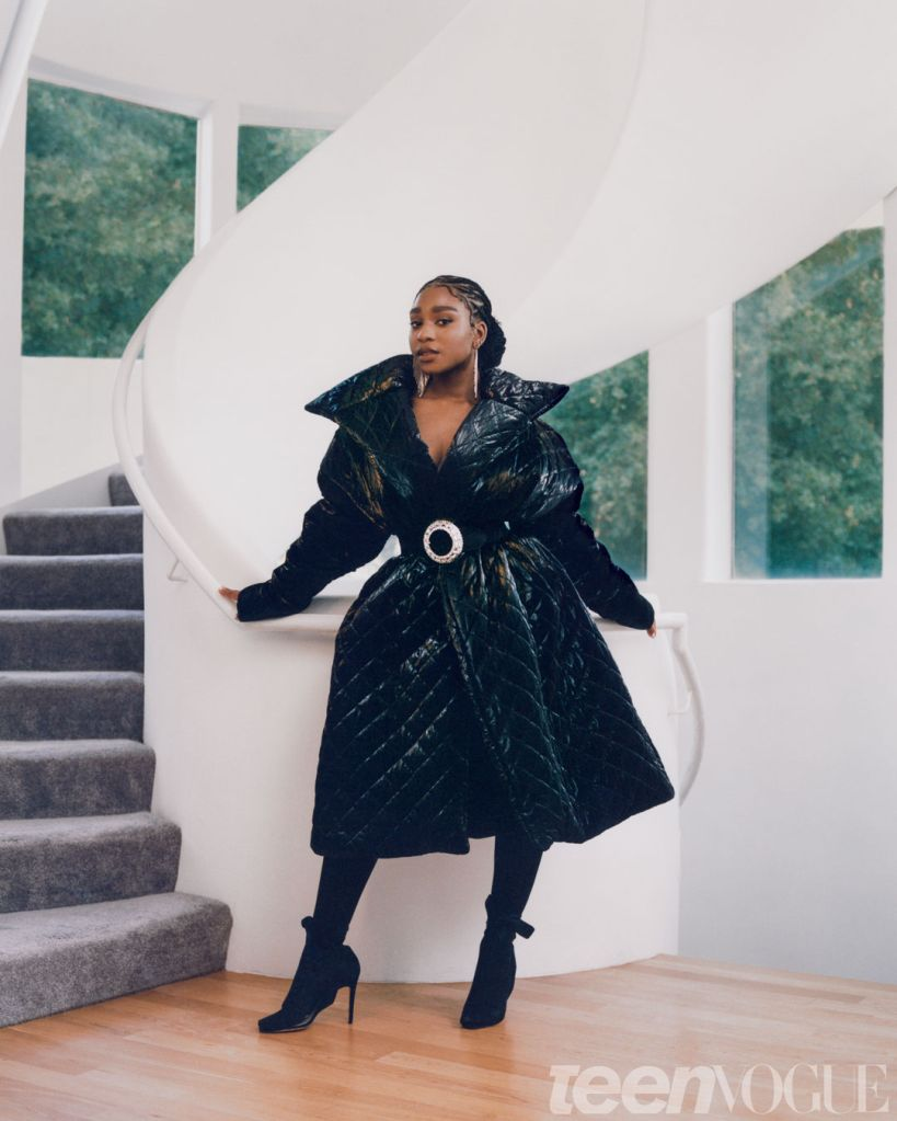Normani. Photo: Micaiah Carter for Teen Vogue