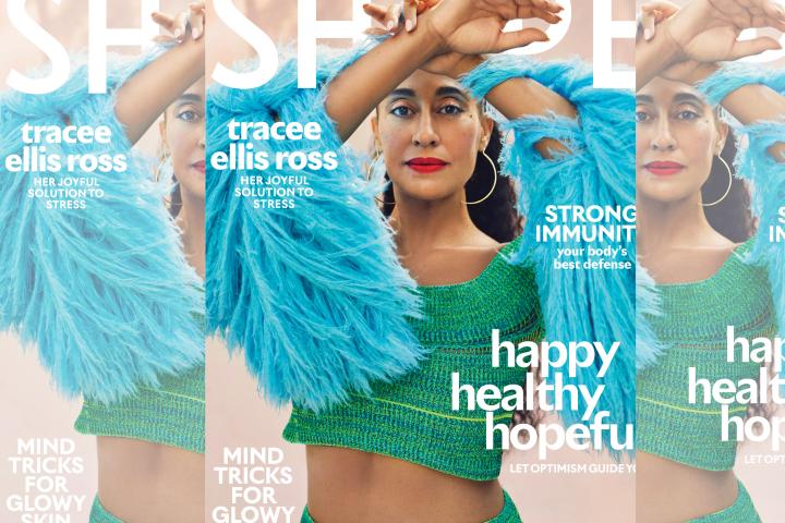 Tracee Ellis Ross for Shape magazine