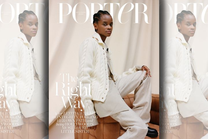 Letitia Wright. Photo: Ekua King for PORTER
