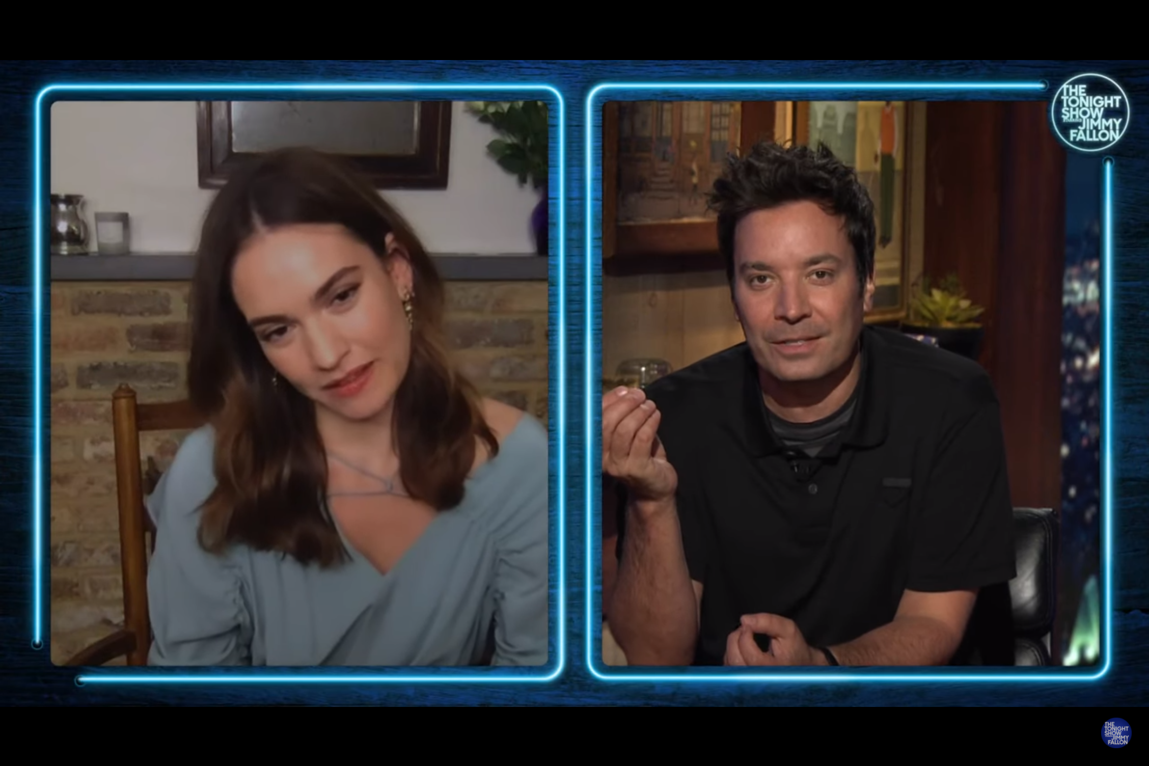 Lily James Discusses 'Mamma Mia! 3' Rumours As She Makes First TV Appearance Since Dominic West Photos