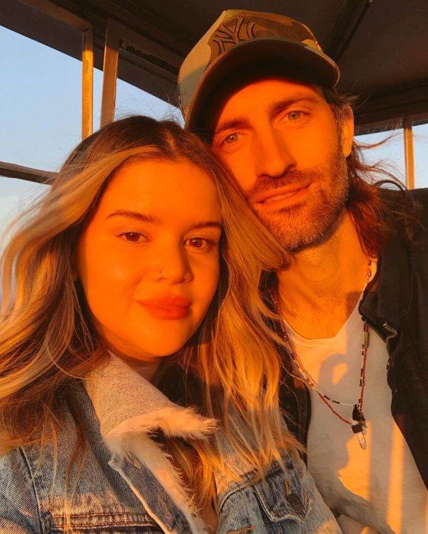 Maren Morris Gets Romantic With Husband Ryan Hurd