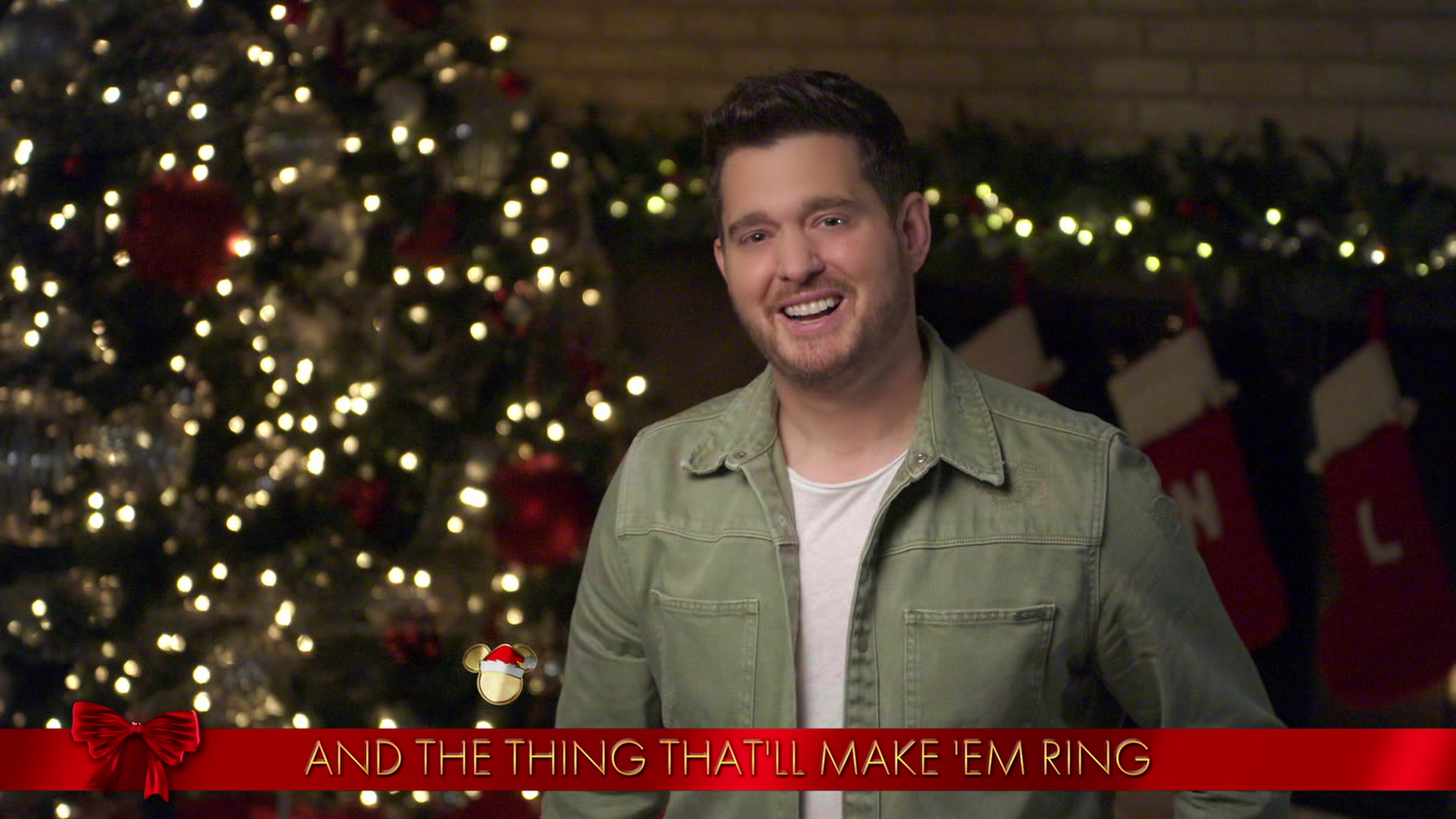 Michael Bublé Joined By Wife Luisana And Kids For Adorable 'Disney Holiday Singalong' Performance