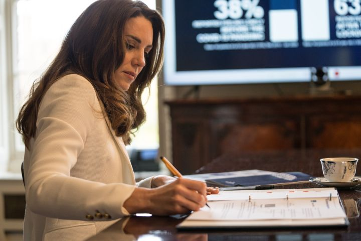 Kate Middleton Unveils Results Of Passion Project '5 Big Questions'