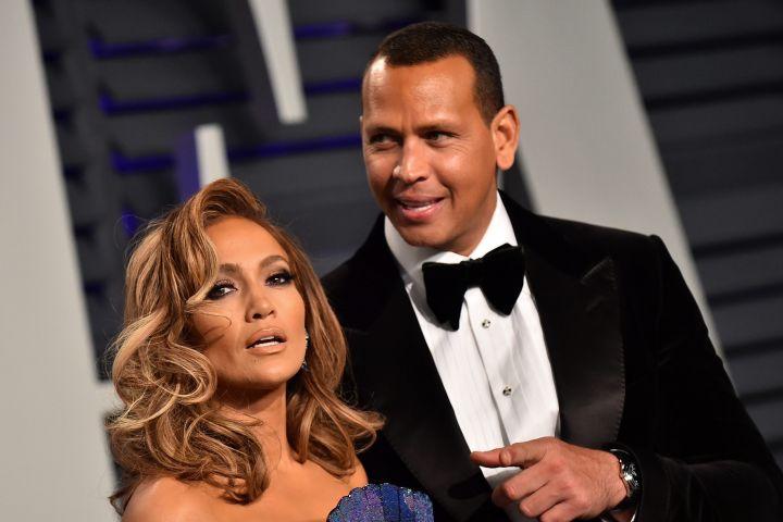 Jennifer Lopez and Alex Rodriguez. Photo: CP Images