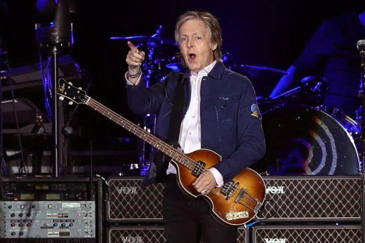 Paul McCartney. Credit: EPA/ALBERTO VALDES/CP Images