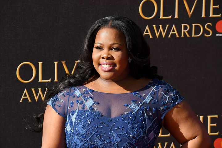Amber Riley. Photo: CP Images