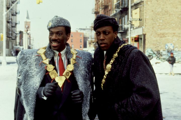 """Eddie Murphy, Arsenio Hall in """"Coming to America"""". Photo: CP Images"""