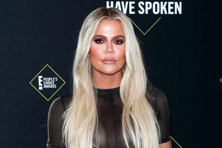 Khloe Kardashians. Photo: EPA/NINA PROMMER/CP Images