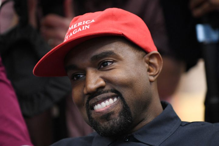 Kanye West. Photo: Olivier Douliery/ Abaca Press/CP Images
