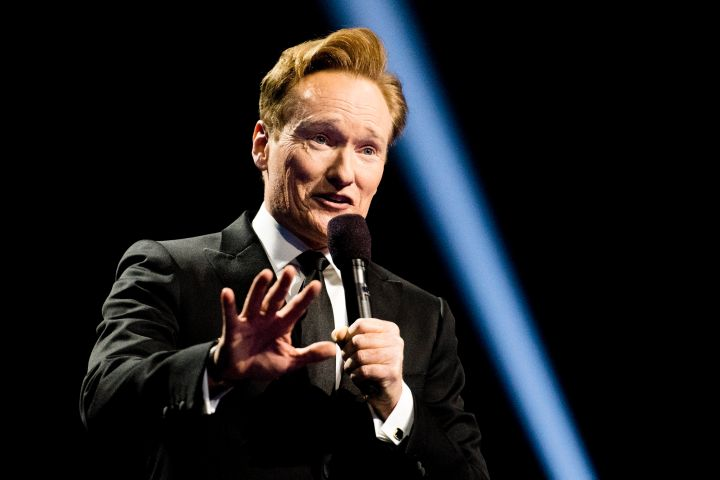 Conan O'Brien. Photo: EPA/JON OLAV NORWAY OUT/CP Images