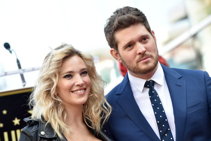 Michael Buble and Luisana Lopilato - Getty Images
