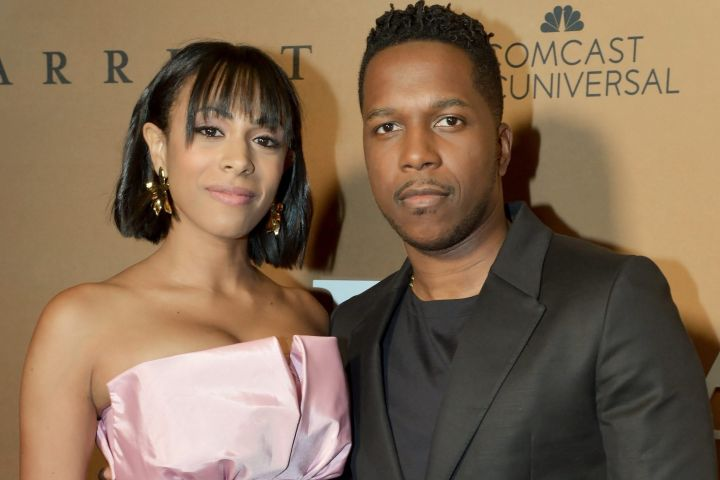 Nicolette Robinson and Leslie Odom Jr. Photo: Getty Images