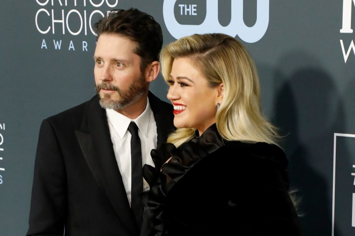 Brandon Blackstock and Kelly Clarkson. Photo: Getty Images