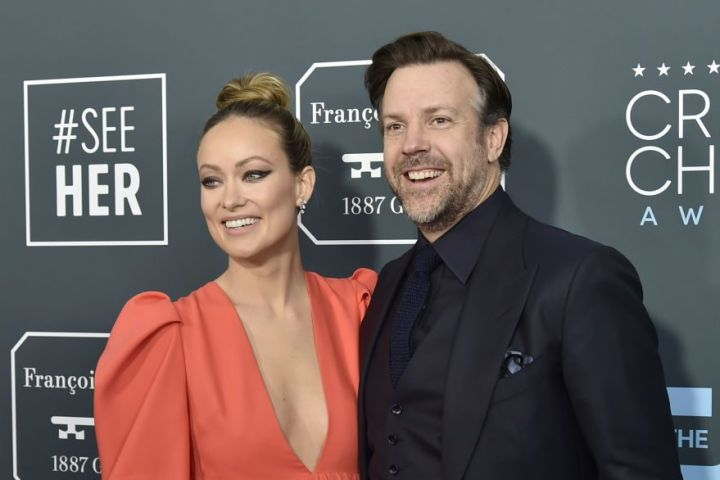 Olivia Wilde and Jason Sudeikis. Photo: Getty Images
